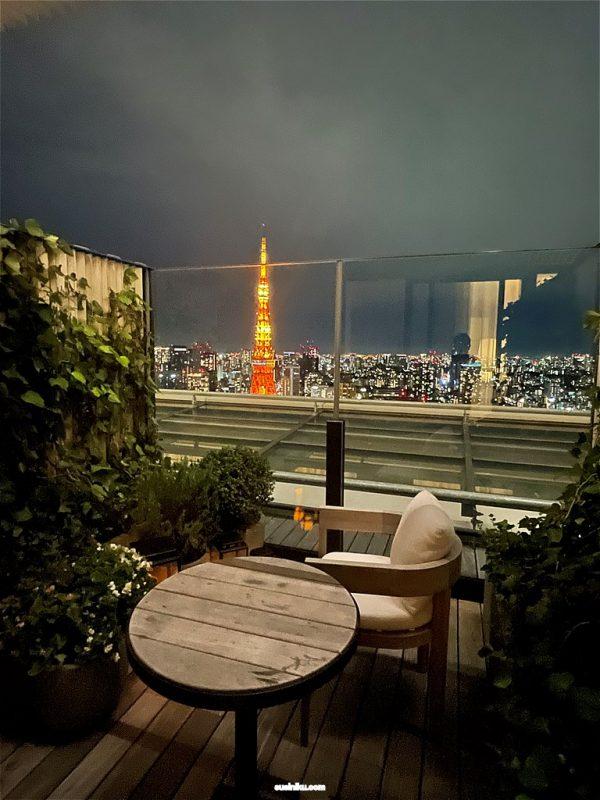 『東京エディション虎ノ門』宿泊ブログ  ~33階の東京タワービューテラス~